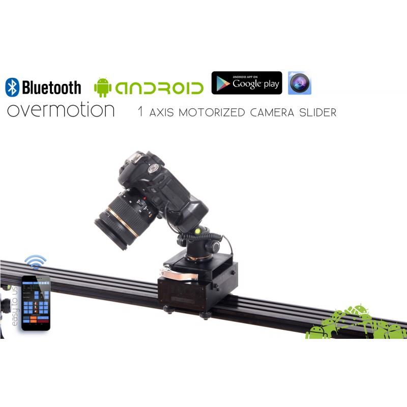 Motorized Camera Slider About Camera