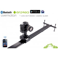 1 AXIS Stepper Motorized Camera Slider, Bluetooth Android