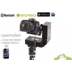 2 AXIS Stepper Motorized Pan Tilt Camera module , Bluetooth Android